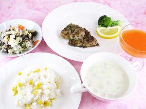 応用栄養学実習 更年期食2